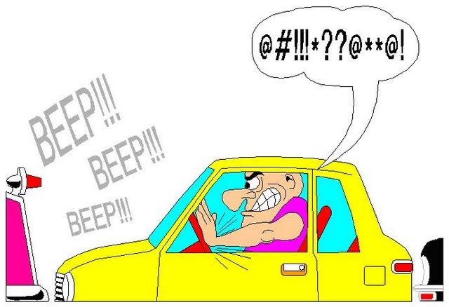 Šta da učinite kada vas presretnu agresivni vozači?