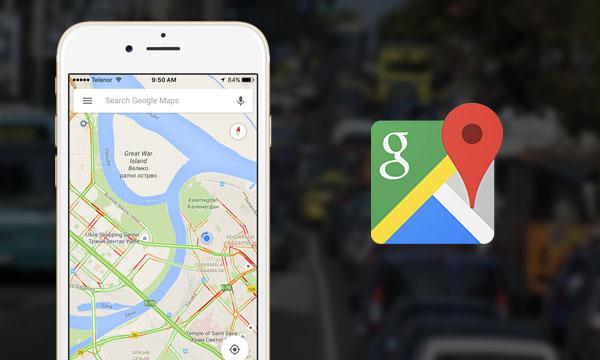 """Google maps uz opciju """"traffic"""" vam otrkiva  gužve na putevima"""