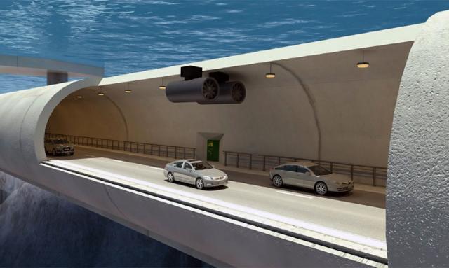 Norvežani planiraju da grade plutajuće podvodne tunele