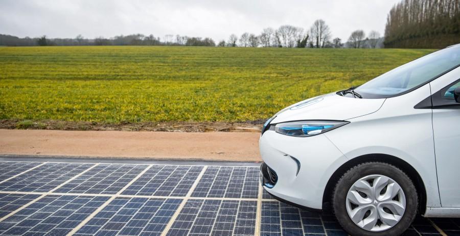 Prvi solarni put na svetu je otvoren!