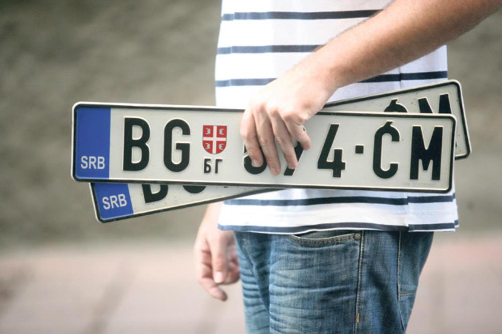 Od Nove godine ukoliko se ne pomeri rok, neki vozači će imati dodatni trošak za zamenu starih tablica